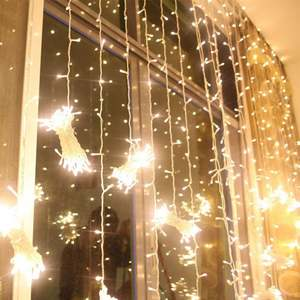 LEDs String Fairy Lights 8 Modi Koppelbaar lcicle Fairy Lights voor Christmas Party Wedding Home Patio Gazon tuin