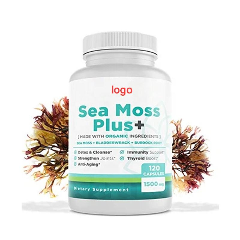 Private Label Irish Sea Moss Capsule Organic