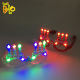 Flashing wire LED glasses glowing party supplies lighting Novelty Gift Bright Festival Party Sunglasses