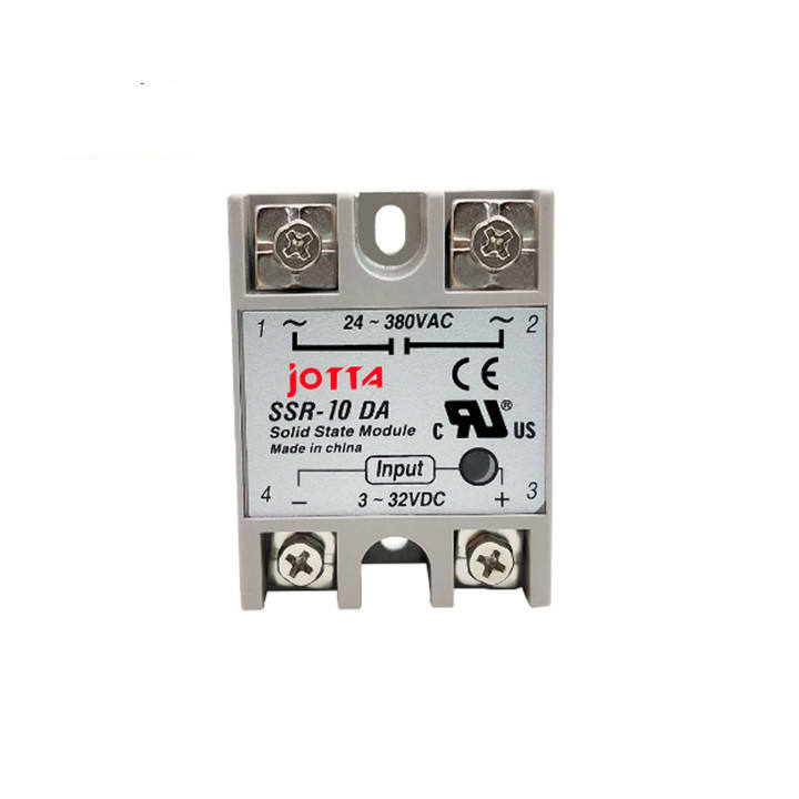 Smart Electronics SSR -10DA/25DA/ 40DA DC control AC SSR white shell Single phase Solid state relay WITHOUT plastic cover