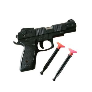 Summer toy pistol shaped black plastic gun DIY Model Plastic Toy Gun