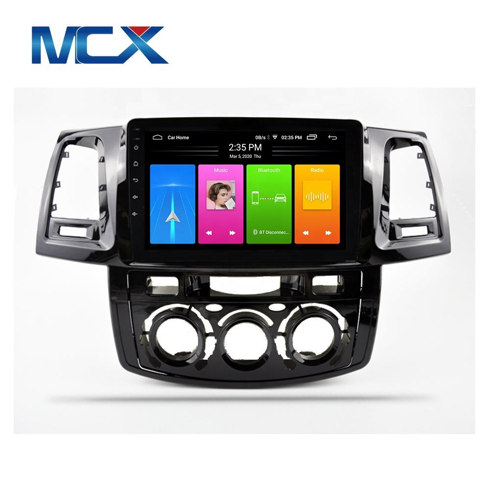 MCX Hot Sale Fabrik preis Android Auto <span class=keywords><strong>DVD</strong></span>-Player mit einfacher Verbindung Für Toyota Fortuner Hilux Radio Player GPS-Navigation