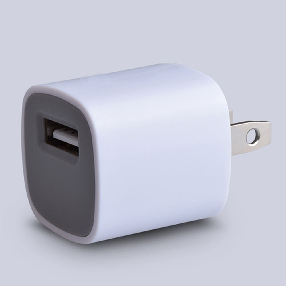 Wholesale for iphone us plug usb charger cube wall charger