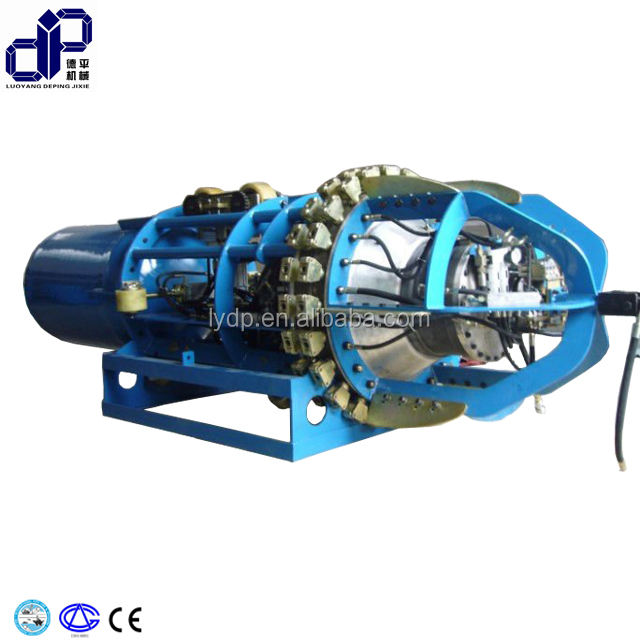 offshore pipeline spoolbase installation welding aligned rotating pneumatic internal line up clamp