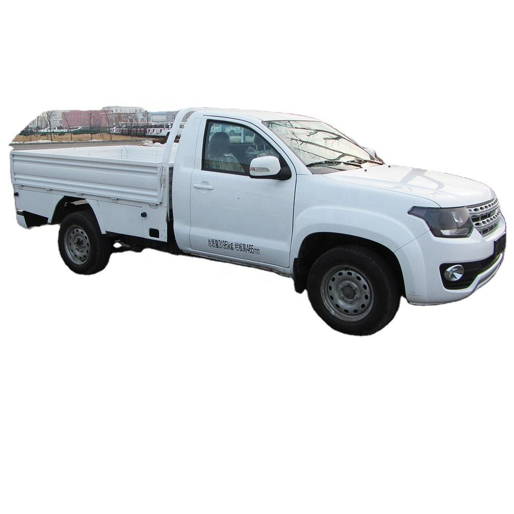 4x2 single cab pickup truck telaio per refrigerato camion pick-up 1.5 ton mini cinese camion pick-up