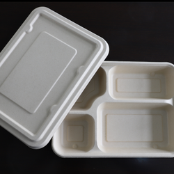 unbleached biodegradable food containers