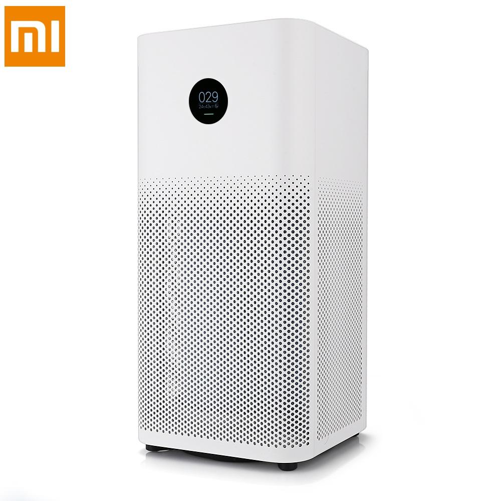 Global Version Original Xiaomi Mi Portable Air Purifier 3H APP Control Light Sensor Multifunction Smart Air Cleaner Home