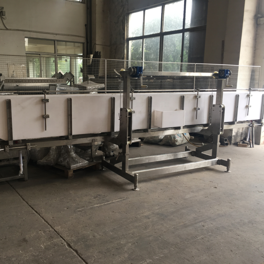Factory supplier Electric Stunner Chicken Water bath Stainless steel 304 Support for poultry processing plant slaughering house