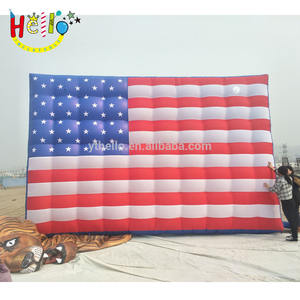 Giant advertising inflatable flag USA model inflatable american flag