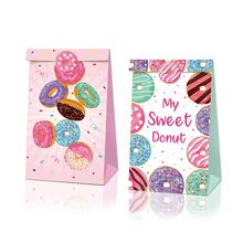 LB012 Donut party gift bag birthday party decorations girls birthday favor bag party kraft paper bag