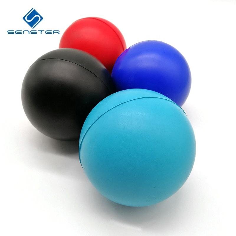 Promotional custom logo print PU foam stress ball anti stress foam ball PU foam squeeze ball