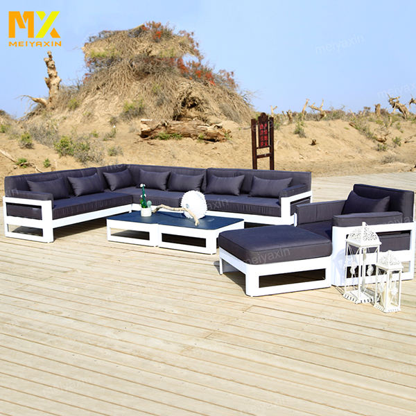 MX new coming contemporary waterproof commercial hotel garden resort aluminum outdoor furniture