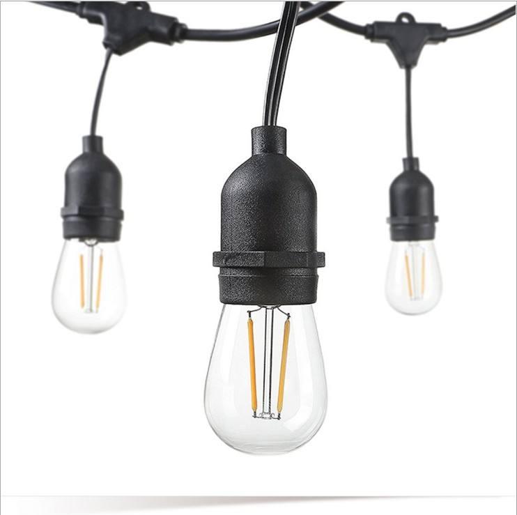 Solar String Light 200 LED Stringh Light White