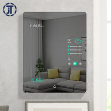 Top quality modern mirror digital android wifi smart mirror HD photo magic TV mirror with lcd display