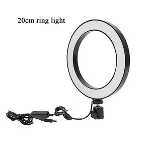 2019 neue Design desktop fotografie led ring licht für make-up, porträt, mode, live-show