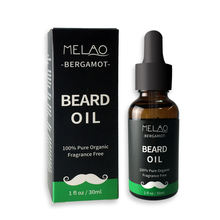 Personal Care Products Beard Oil Custom Bottle Label Packing And Box Gentlemen Pure Beard Essential Growth Oil