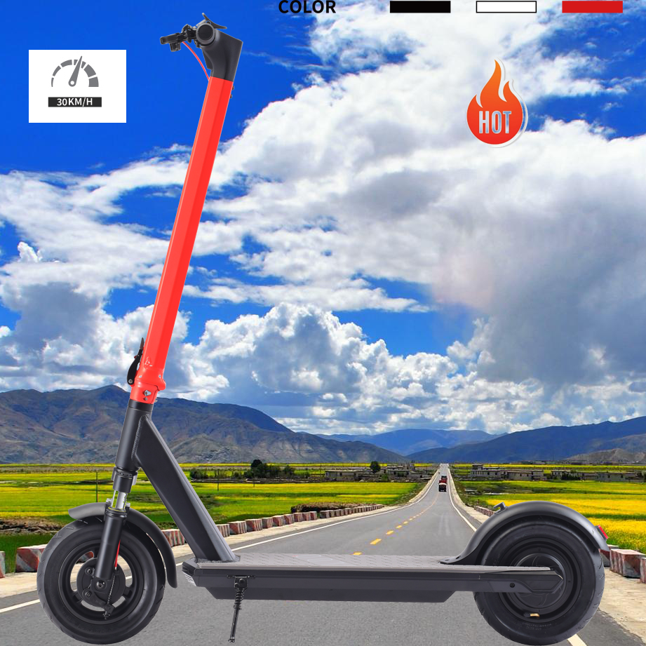 New version natural-free style dropshipping 350w 36v adult/teenager transport tool 10ah electric scooters shockproof