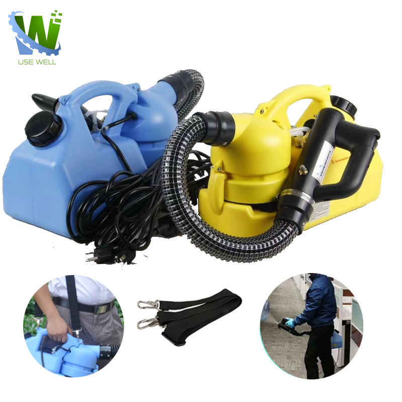 Mini mosquito sterilization pesticide disinfecting fog spraying atomizer electronic ulv cold fogging misting machine for home