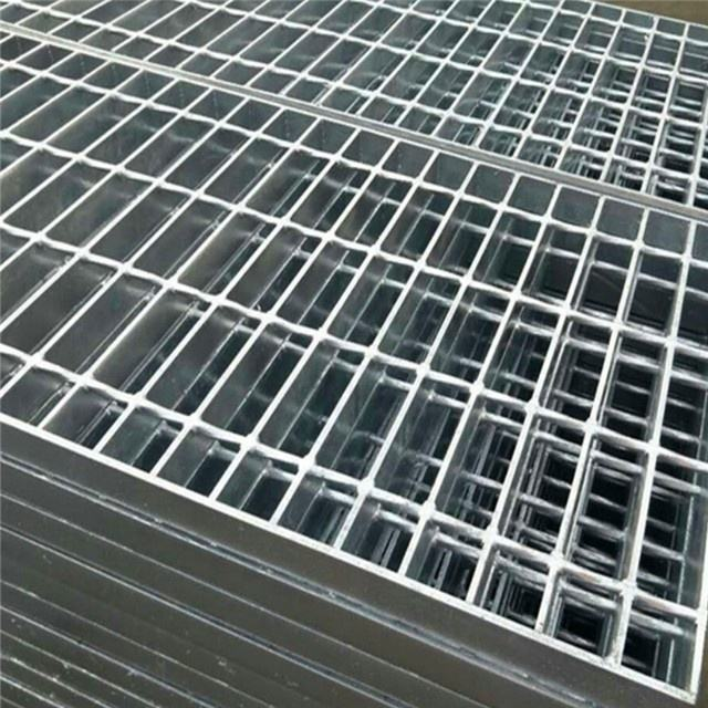 Metal Building Material Serrated Steel Grid Flooring Drain Grating Cover for Construction