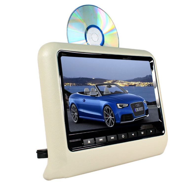 9 inch car headrest monitor back seat tv for dvd car player