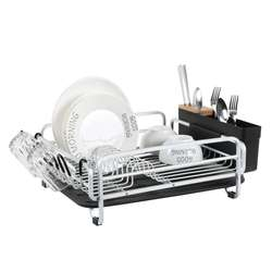 Wholesale Dish Drying Rack kitchen organization Aluminum dish rack