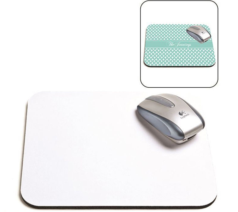 5mm thick blank custom soft touch sublimation mouse pad