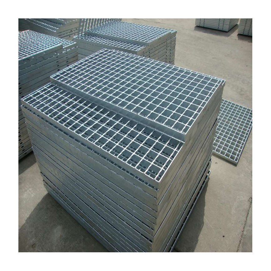 Cheap price hot dipped galvanized press locked and welded steel grating walkway on sale
