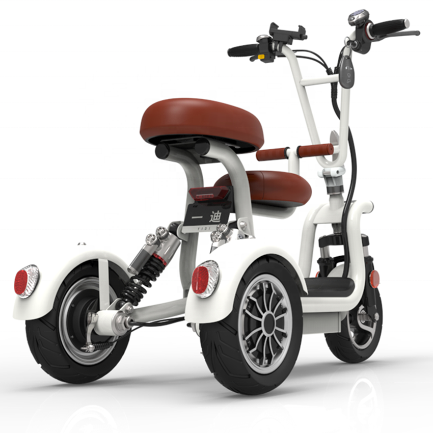 Wholesale 48V 3 wheel electric scooters 8A electric tricycle