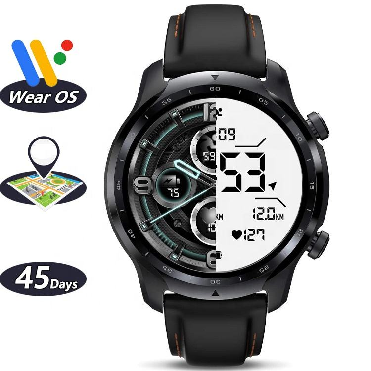 Original Mobvoi Ticwatch Pro 3 GPS Pro3 Google Android Wear OS Smartwatch Reloj Montre i Watch Serie Seri Series 6 Smart Watch