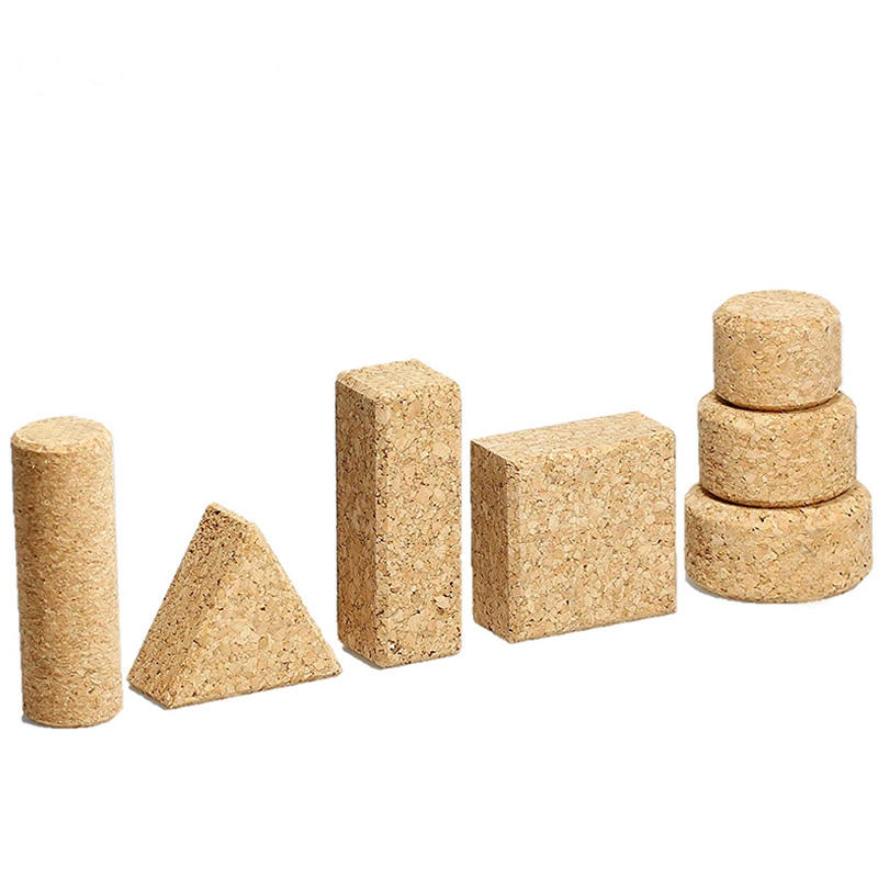 Eco-friendly Natural Custom Cork Products For Crafts With Printed Marked