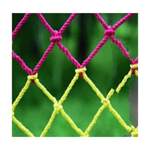 color plastic net rope netting used for cargo net climbing net