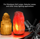 Cord Crystal Salt Lamp Cord Salt Lamp Cord With Dimmer Control Power Cord With Dim Switch Clip For All Himalayan Crystal Lamps
