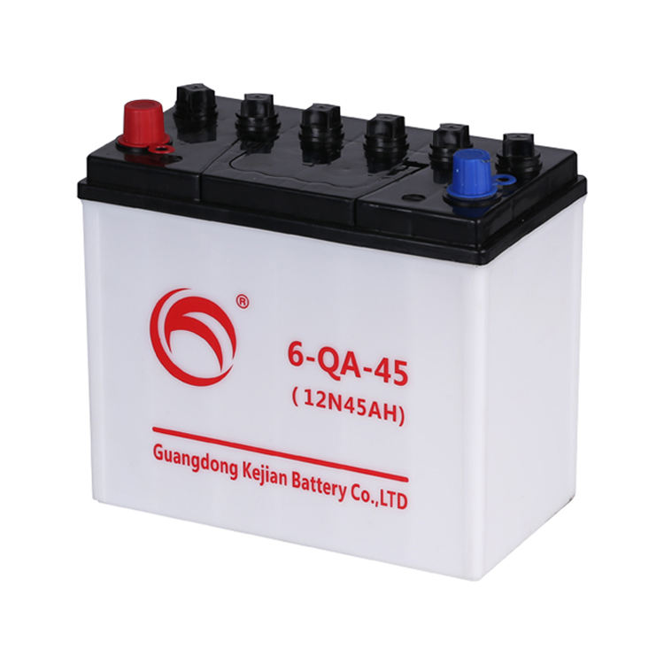 Guangdong Kejian 6-QA-45 Auto Batterie Trocken Vorgeladen 12V 45AH Auto Batterie Made in China