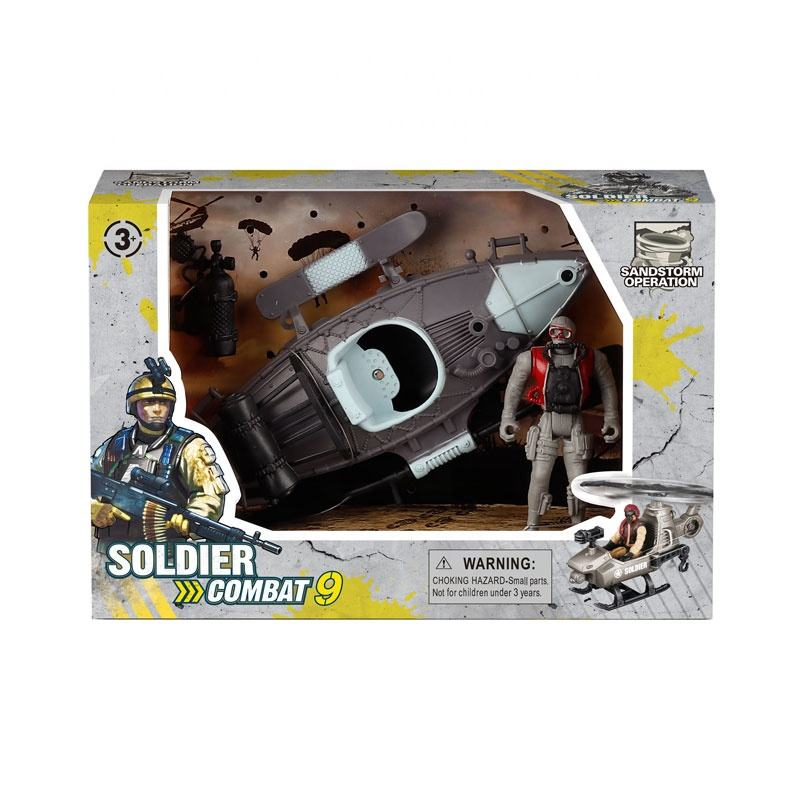 Latest item soldier combat special troops military toy set for sale