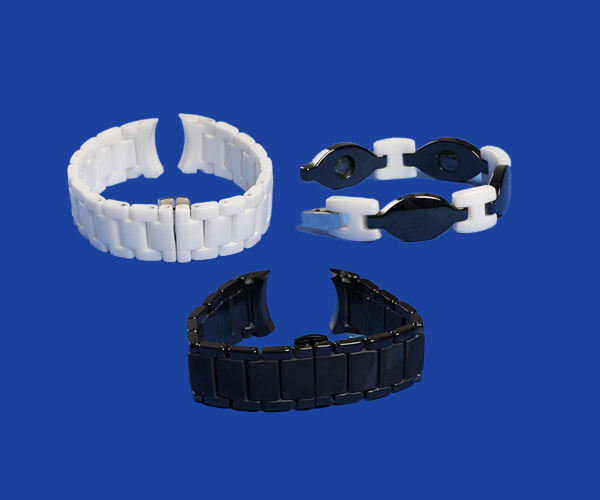 Customized Watch Ceramic Strap Precision High Quality Watch Band Strap Bracelet Ceramic Watch Parts