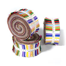 Manufacture direct wholesale cheap High quality multi colorful solid color cotton fabric quilting  jelly rolls fabric