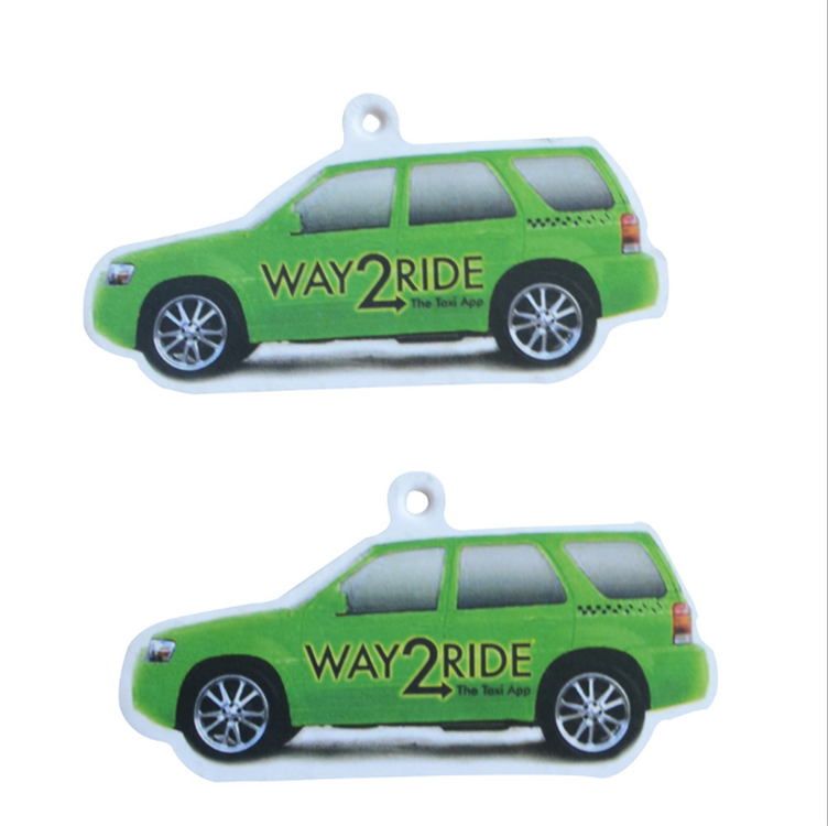 Freshener Car Custom Logo Car Paepr Air Freshener For Car