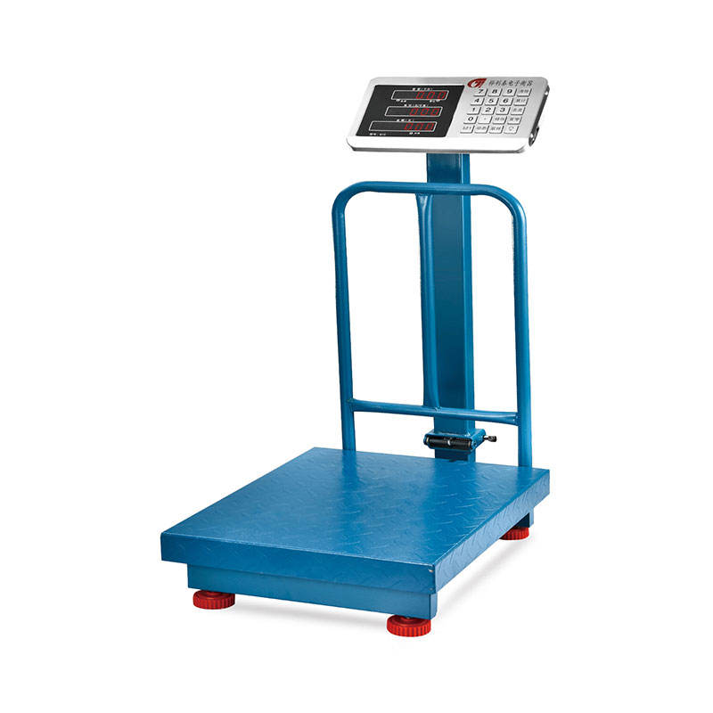 tcs series 100kg 150kg 200kg 300kg electronic platform digital weighing scale with railing