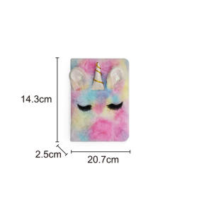 2020 Cute Fashion Mewah Unicorn Cover Stationary Notebook Libretas