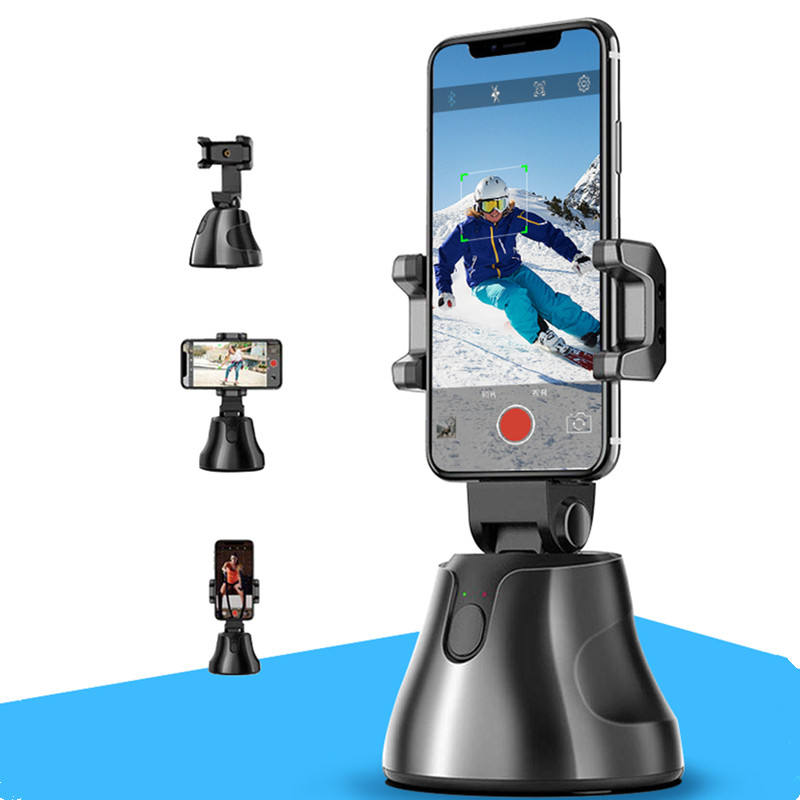 Apai Genie 360 Rotation Auto Face Object Capture Tripod Selfie Stick Smart Camera Phone Holder Outdoor