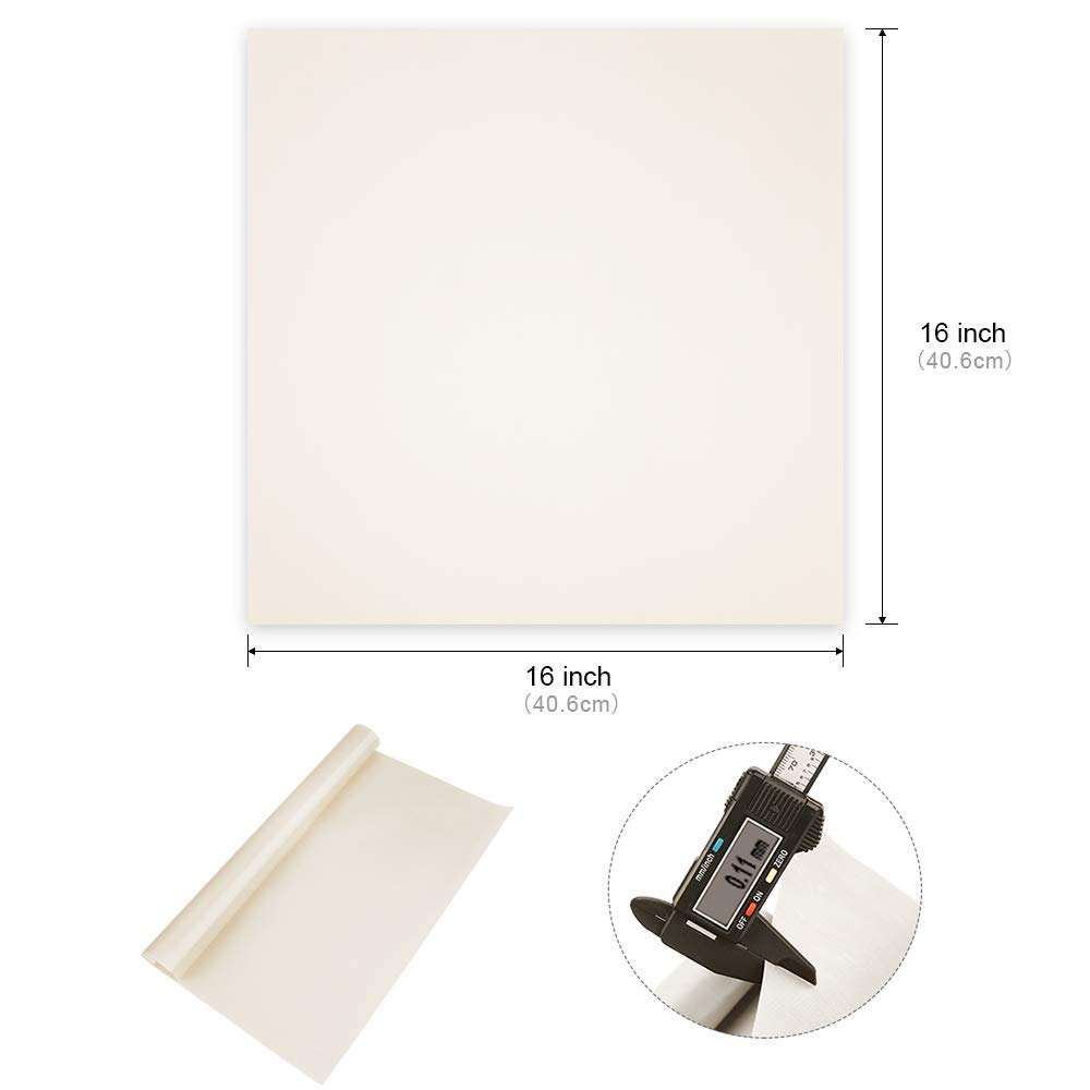 Factory Price Craft Sheet Non Stick Heat Resistance Craft Mat Heat Press Ptfe Fabrifc