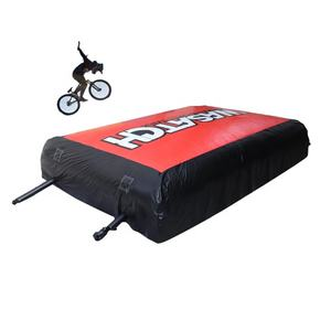 Big size mountain bike air bag stunt air bag for BMX