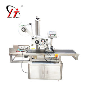 Automatic labeling machine pouch labeling machine for plastic bag