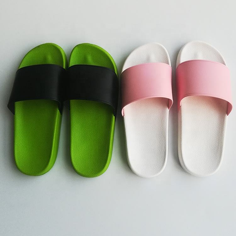 Comfortable foot pvc sole summer fashion bathroom water resistant slipper