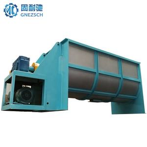 Industrial blender paddle powder horizontal mixer machine