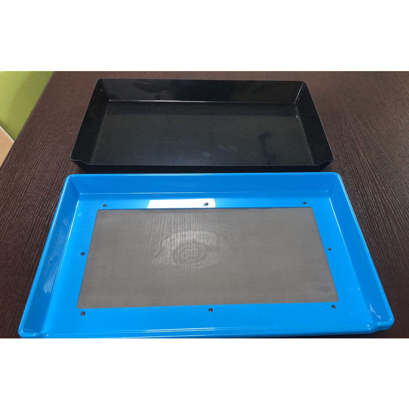 Customized Print Vacuum Forming Square Large Plastic Planting Pollen Trimming Trays