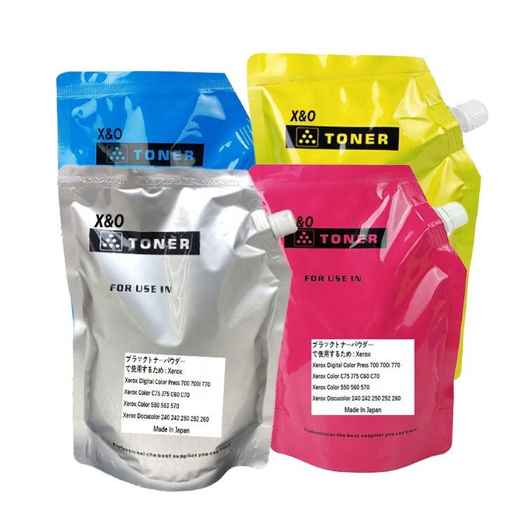 Genuine Original Japan Bulk refill laser Toner Powder for Xerox Machine V80 250 700 560 C75 C60 7855 C8135 3370 5570 7780 Copier