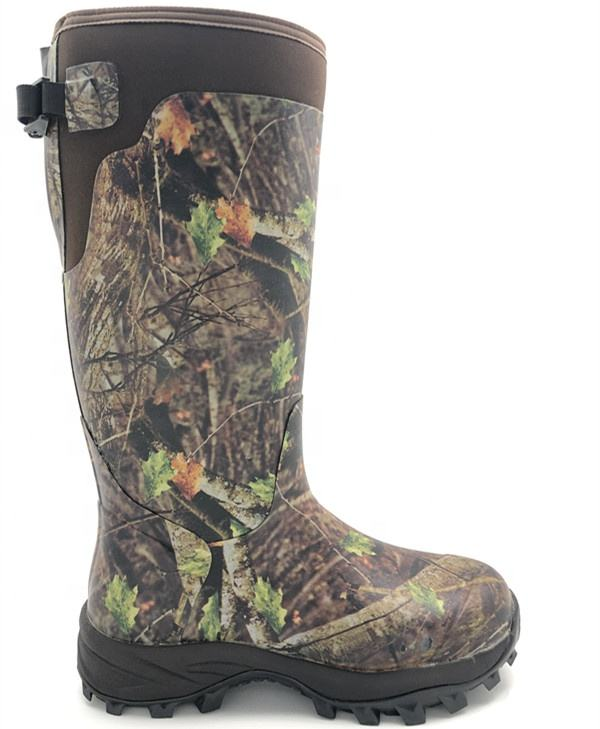 Hunting Boots for Men Waterproof Mens and Womens Rain Boots Neoprene Rubber Insulated Shoes