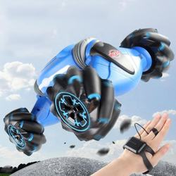 2.4G Remote Control Car 360 Rolling Double Side Running Vehicle Gesture Control Stunt Car For Children