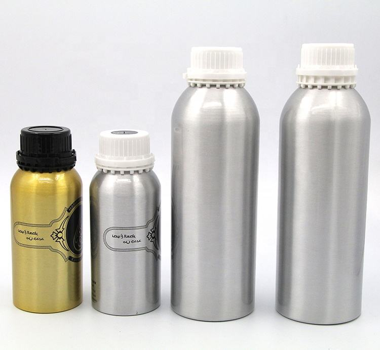 500ml Aluminum Essential Oil Bottle with childproof cap